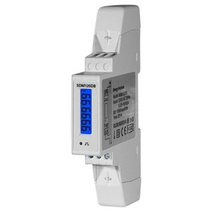 SDM120DB 1 fase kWh meter 45A LCD MID